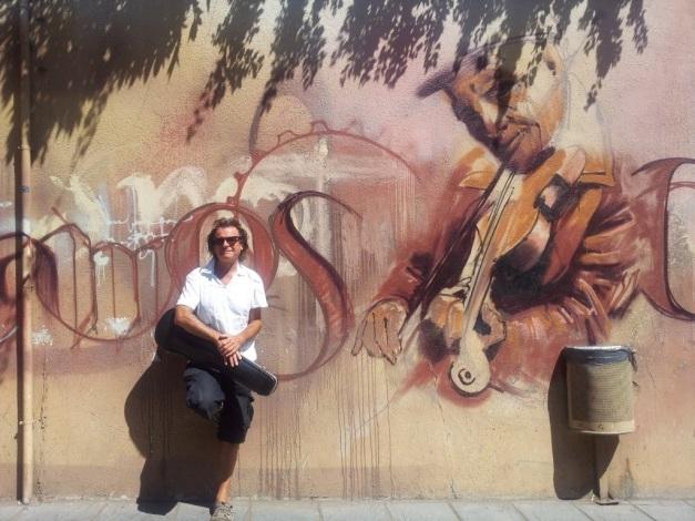 Tymon violin Graffitti